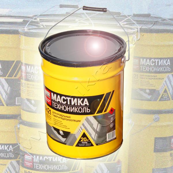 ТЕХНОМАСТ ТН №24 бітумна мастика для гідроізоляції фундаментів і підземних частин споруд