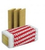 Техноруф 45 базальтовая тепло- и звукоизоляция. Плотность 140 кг/м3. Размер, мм:1200х600х50. Упак.2,88кв. м.