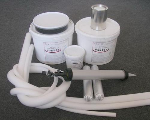 ТЭКТОР 203 полиуретановая мастика - для воздухо- и влагозащиты стыков конструкций и панельных плит зданий и сооружений.