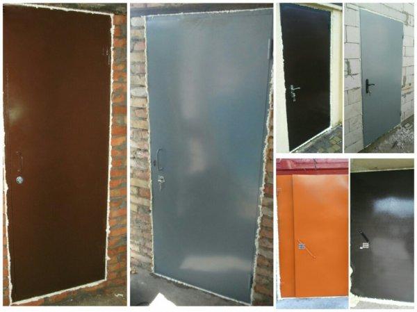Фото 1 Металеві двері у підвал підїзд / металлические двери в подвал подъезд 336109