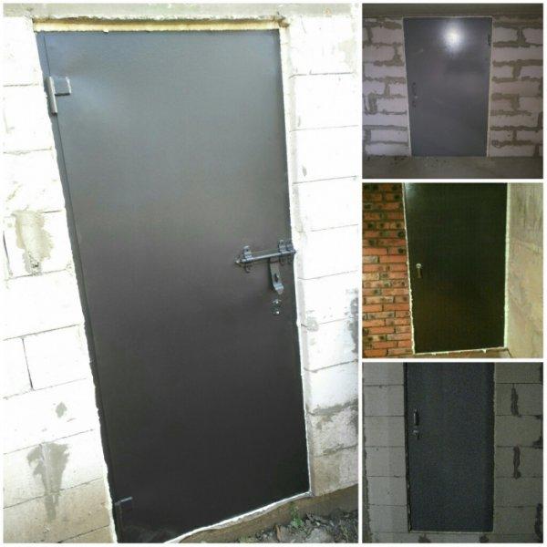 Фото 2 Металеві двері у підвал підїзд / металлические двери в подвал подъезд 336109