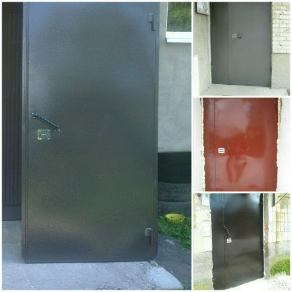 Фото 5 Металеві двері у підвал підїзд / металлические двери в подвал подъезд 336109