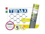 Фото  1 Сетка полимерная Tenax Эксагон, серебряная, 1.0*5.0 | сетка для декоративного ограждения 2022045