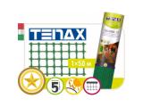Фото  1 Сетка полимерная Tenax Квадра 10, зеленая, 1.0*50 | сетка для декоративного ограждения 2022040