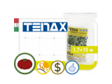 Фото  1 Сетка полимерная Tenax Ортинет, зеленая, 1.7*10 | для поддержки вьющихся растений 2022043