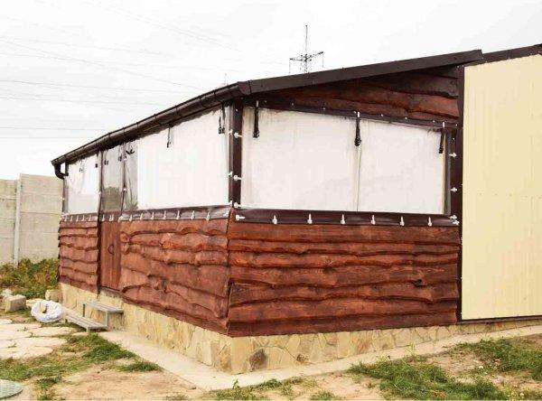 Фото 7 Мякі ПВХ-вікна для веранди, тераси, літнього майданчика 340947