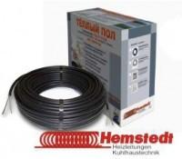 Теплый пол электрический Hemstedt - нагревательная секция в цементно-песчаную стяжку