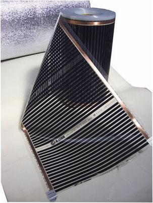 Теплый пол пленочный инфракрасный EXA (Корея) ширина нагревательной пленки 800мм. Мощность 160Вт/м. п.