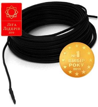 Фото  1 Одножильний нагрівальний кабель ProfiTherm Eko плюс 23 (для антикригових систем) 1545 Вт/ 67.6 м 546982