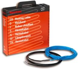Теплый пол (Raychem). Двужильный кабель T2Blue, длина 86м, мощность 1710Вт/230В площадь обогрев. 13.2м2