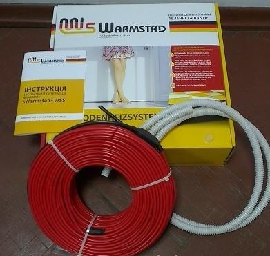 Теплый пол Warmstad двужильный кабель WSS-210