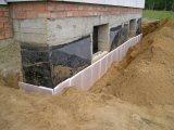 Фото  1 Тепло- і гідроізоляція фундаментів розташованих під землею (підземна або підвальна гідроізоляція) 1747067