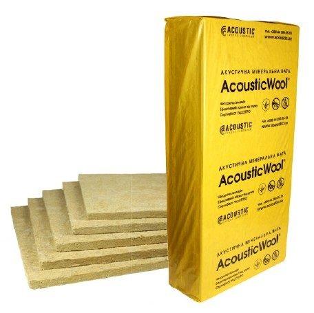 Фото  1 Тепло звукоізоляція підлоги Acousticwool floor 20х600х1000мм 1887987