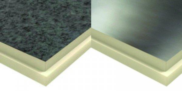 Фото  1 Теплоизоляционные плиты PIR 100мм стеклохолст 2083773