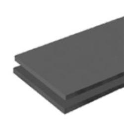 Теплоизоляция K-flex ST PL 25. Черн. пластины. Длина, м:2. Ширина, м: 0,5. Площадь рулона, кв. м.8:. Толщ. изол, мм: 25