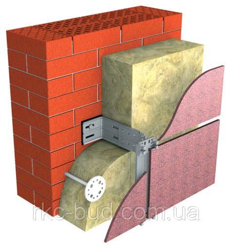 Теплоизоляция на основе каменной ваты ТехноВЕНТ, толщина 50 мм