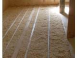 Теплоизоляция пола каркасного дома