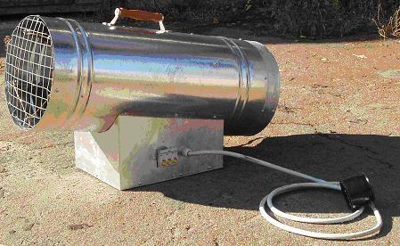 Тепловентилятор промышленный 5-60 квт