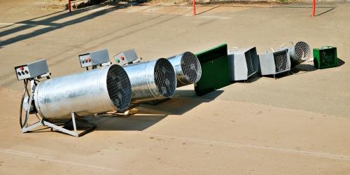 Тепловентиляторы Луч 2-54 кВт, гарантия, ремонт, аренда