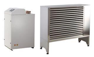Тепловой насос воздух-вода 16 кВт