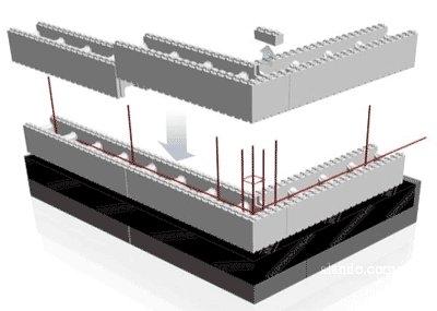 Термоблок 35 плотности, 4 ряда в день(1000 см) (универсальний), соединение лего.