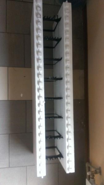 Термоблок с пластиковыми перемычками, размером 1200 Д)х270(Ш)х400(В)