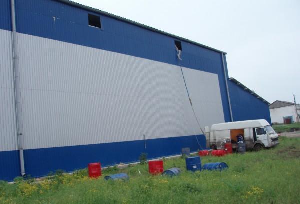 Термоизоляция пенополиуретаном промышленных холодильников, объектов сельского хозяйства и транспорта