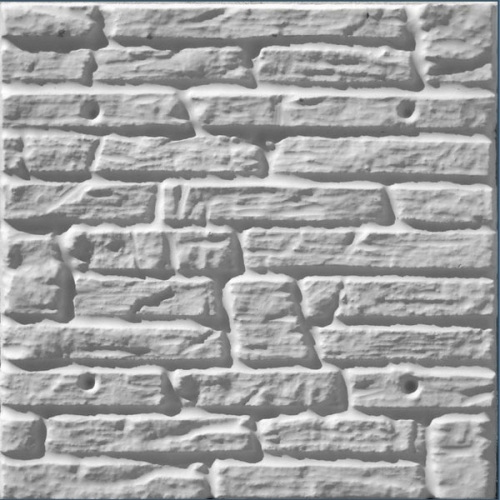 Термопанель Теплодом-Н Николаев,500х500, пенопласт 50, плотность 25, дек. песчаник