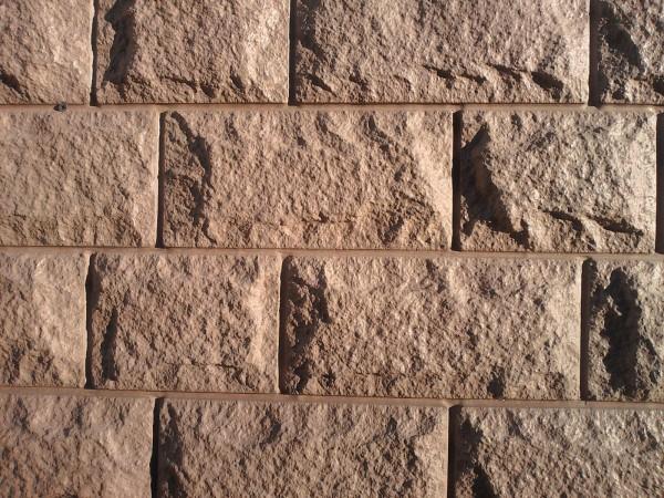 термопанель:колотый камень размер:100см х 50см толщина пенополистирола 30мм - 100мм