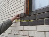 Фото  8 Термопанели фасадные SunRock Кирпич колотый 600х400х50мм Минвата 845кг/м.куб 800мм, Серый цемент 2864725