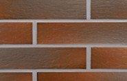 Фото  1 ТЕРМОПАНЕЛИ С КЛИНКЕРНОЙ ФАСАДНОЙ ПЛИТКОЙ CERRAD (245x65) КЛАУД БРАУН (CLOUD BROWN) 60 mm 1448221