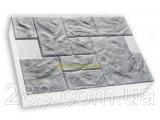 Фото  9 Термопанели SunRock Песчаник колотый 600х400х50мм Пенопласт 900мм, Серый цемент 2964382