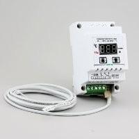 Терморегулятор (датчик DS18B20) корпус на DIN-рейку РТ-16/D1 (16А/3кВт) шаг регулировки 1С