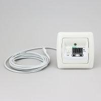 Терморегулятор для теплого пола в корпусе для скрытой проводки РТ-16/Р1-Carmen (16А/3кВт)