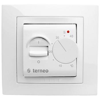 Терморегулятор для тёплого пола terneo mex unic белый