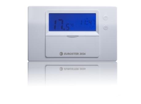 Терморегулятор Euroster 2026 Применение для регулировки работы котла Ц. О. , половое отопление