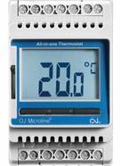 Терморегулятор OJ Electronics ETN4-1999 «Все в одному» для монтажу на DIN-рейку