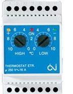 Терморегулятор OJ Electronics ETR/F-1447A для антикригових систем та систем сніготанення