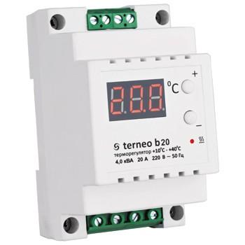 Терморегулятор повышенной мощности terneo b 20