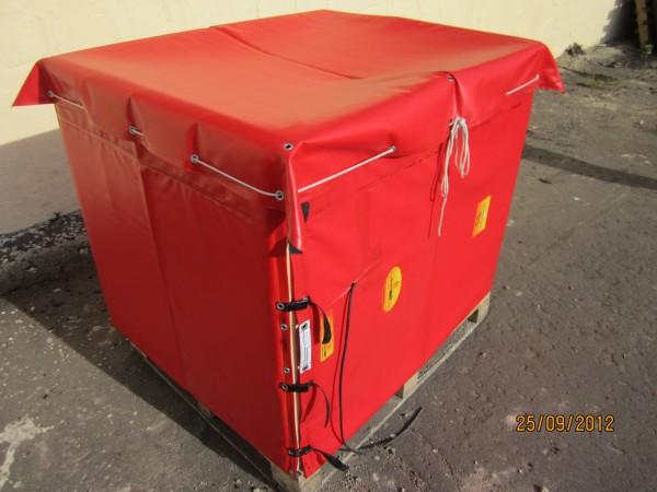 терморубашка для разогрева сырья в любой емкости