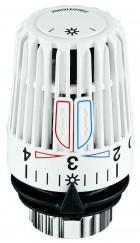 Термостатическая головка К со встроенным датчиком и двумя энергосберегающими клипсами. Диапазон регулирования t 6