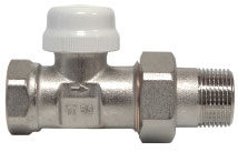 Термостатический клапан прямой