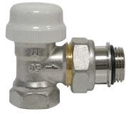 Термостатический клапан угловой