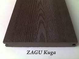 Фото  1 Террасная доска Zagu Kuga Шоколад 1756830