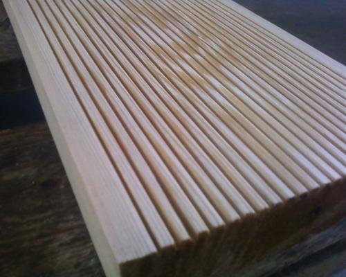 Террасная доска(лиственница сибирская)27*135*400 0мм, рефлёная, сорт ВС