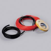 ThinKit - тонкий двухжильный кабель Ensto для теплого пола, EFHTK11 1100Вт, 110 м, 7,3 - 13,8 м2