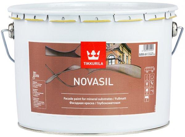 Фото  1 Tikkurila NOVASIL фасадная краска 1807284