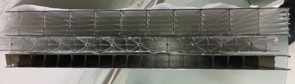 Фото 6 Сотовый поликарбонат усиленный SOTON TITAN 8 - 20 mm (прозр/бронз.) 341646
