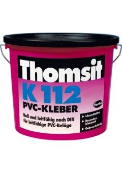 Токопроводящий водно-дисперсионный клей для ПВХ- и каучуковых покрытий Thomsit K 112 Томзит К 112 Харьков