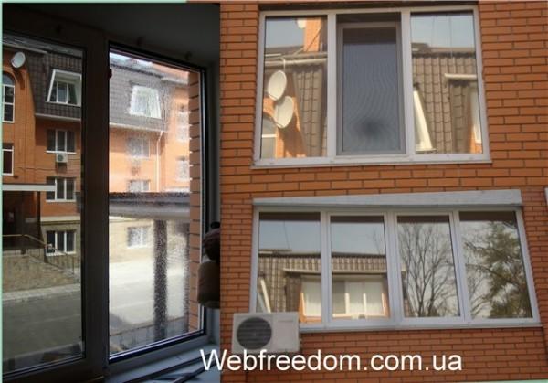 Тонирование окон и балконов